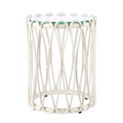 Sona Side Table in White