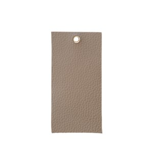 Leather Swatch in Grey