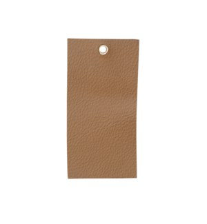 Leather Swatch in Natural