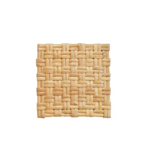 Woven Rattan Sample in Natural