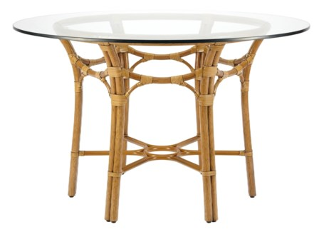 Taylor Dining Table Base in Nutmeg
