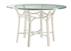 """Taylor 48"""" Dining Table Base - White"""