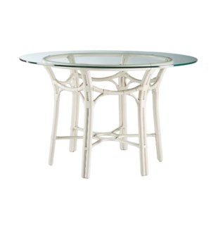 Taylor Dining Table Base in White