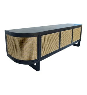 Stockholm Console in Black