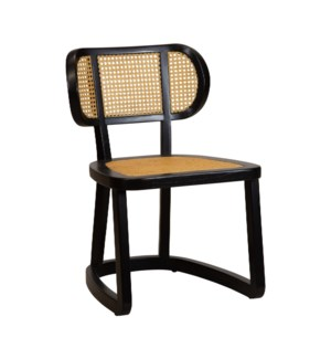 Stockholm Side Chair in Black