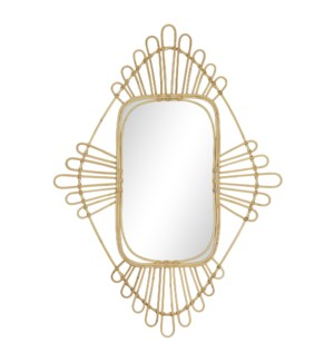 Victoria Mirror in Natural