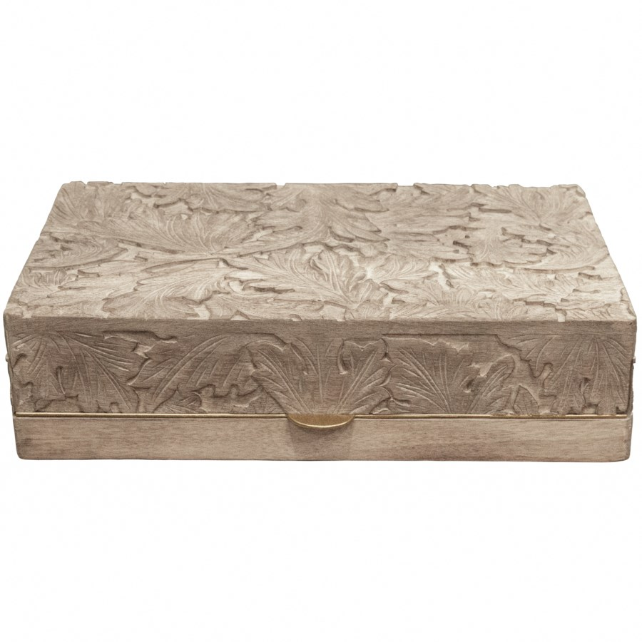 Acanthus Box in Natural