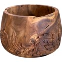 Acanthus Planter in Natural