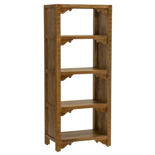 Bullerswood Bookcase in Natural