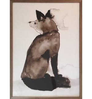 William Morris Forest Fox Print