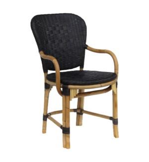 Fota Arm Chair in Black