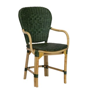 Fota Arm Chair in Green