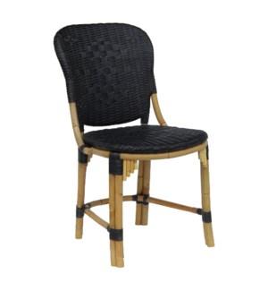 Fota Side Chair in Black