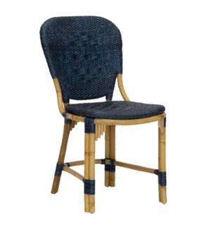 Fota Side Chair in Navy
