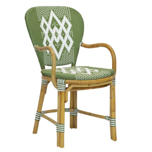 Hekla Arm Chair in Green