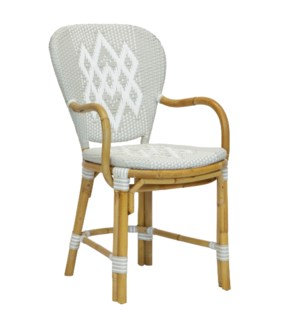 Hekla Arm Chair in Grey