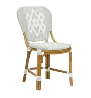 Hekla Bistro Side Chair in Grey