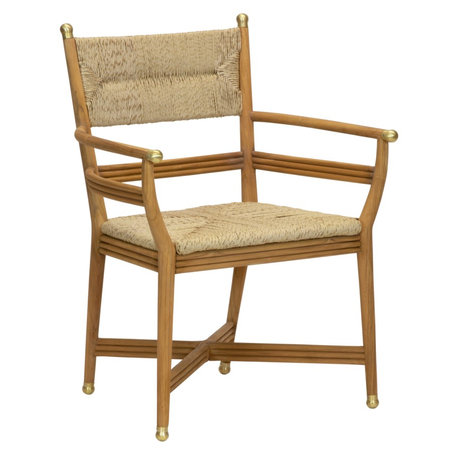 Kelmscott Arm Chair in Natural