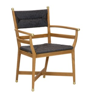 Kelmscott Arm Chair in Black
