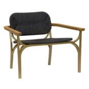 Kelmscott Lounge Chair in Black