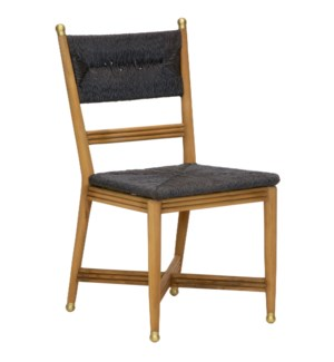 Kelmscott Side Chair in Black