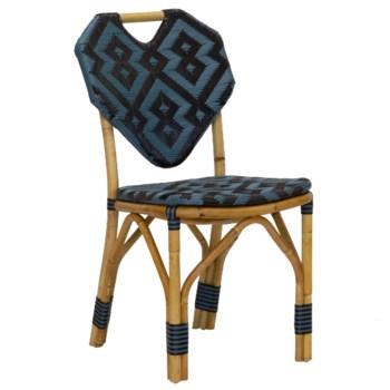Orkney Side Chair in Black
