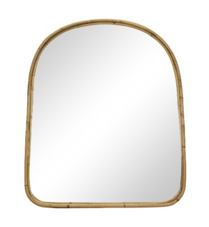 Yosemite Falls Mantle Mirror in Natural