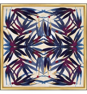 Zoe Bios - La Jungla Sapphire Painting