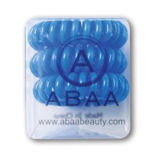 ABAA HAIR RING (SET OF 3) BLUE