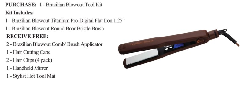 BRAZILIAN BLOWOUT TOOL KIT