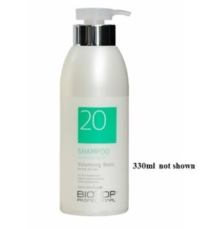 BIOTOP 20 VOLUMIZING BOOST SHAMPOO 330ML