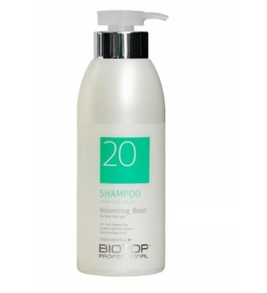 BIOTOP 20 VOLUMIZING BOOST SHAMPOO 500ML