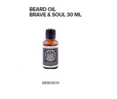 BRAVE AND BEARDED BRAVE & SOUL BEARD OIL 30ML