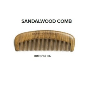 BRAVE AND BEARDED SANDALWOOD COMB