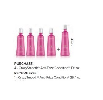 COLORPROOF 4+1 L CRAZYSMOOTH ANTI-FRIZZ CONDITIONER//ND'18