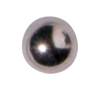 CR INV 4MM BALL EARRINGS/ PR