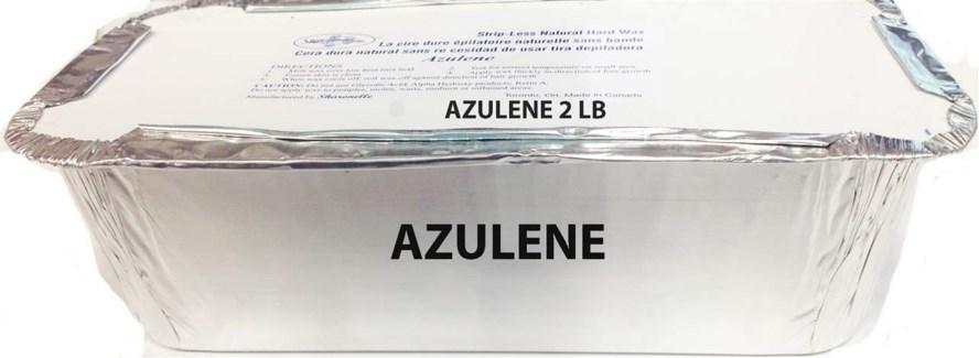 CR SH AZULENE HARD WAX 2LB