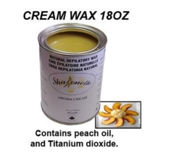 SPECIAL ORDER ONLY // CR SH AROMA (MILK) CREAM WAX 18OZ