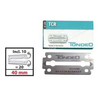 DA TONDEO M-LINE TCR BLADES 40MM 10 PACKS OF 10