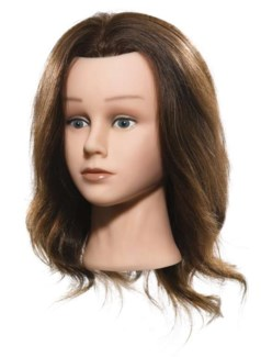 DA MANNEQUIN HEAD//EUROPEAN TEXTURE HAIR (14DTCB)