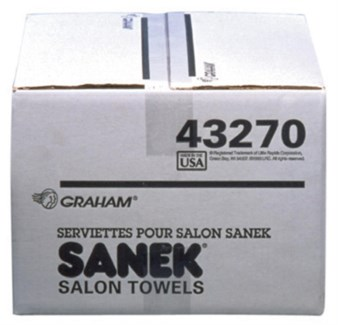 SANEK 3PLY SALON PAPER TOWELS 500/CASE