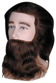 MALE COMPETITION MANNEQUIN W/FACIAL HAIR