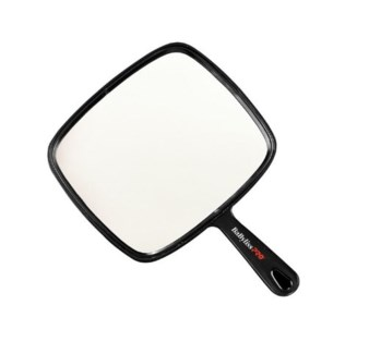 DA LARGE HAND MIRROR BLACK