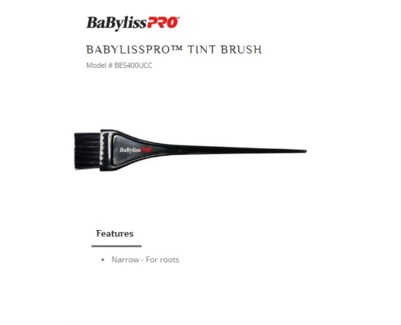 DA BP NARROW TINT BRUSH (FOR ROOTS)