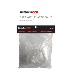 DA PLASTIC PROCESSING CAP W/ELASTIC 30/PCS