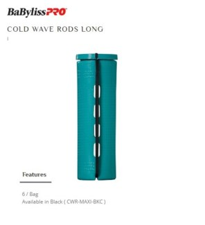DA BP COLD WAVE RODS MAXI GREEN 6/BAG