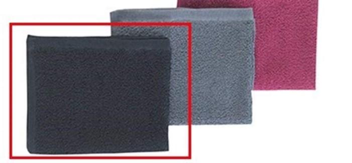 DA PREMIUM BLEACHPROOF TOWEL DOZEN BLACK-SPECIAL ORDER