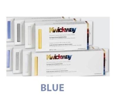 """DA KWICKWAY PRE-CUT STRIPS 8 x 3 3/4"""" (200 STRIPS) BLUE"""