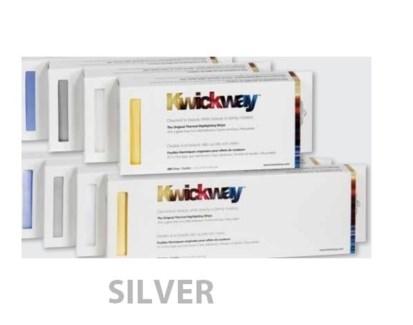 """DA KWICKWAY PRE-CUT STRIPS 8 x 3 3/4"""" (200 STRIPS) SILVER"""