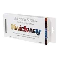 """DA KWICKWAY BALAYAGE STRIPS 10 x 5"""" (150 STRIPS) SILVER"""